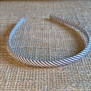 Seersucker Thin Headband